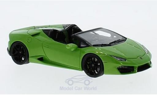 Lamborghini Huracan 1/43 Look Smart LP 580-2 Spyder metallise green diecast model cars