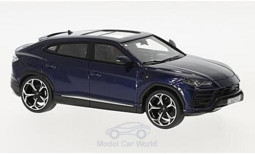 Lamborghini Urus 1/43 Look Smart bleue miniature