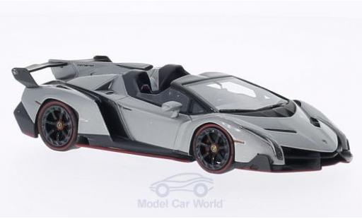 Lamborghini Veneno 1/43 Look Smart metallise grise miniature