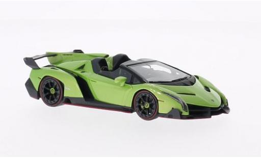 Lamborghini Veneno 1/43 Look Smart metallise verte miniature