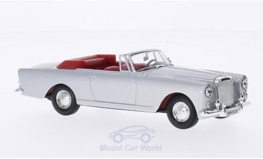 Bentley Continental T 1/43 Lucky Die Cast S2 DHC Pack Ward grise 1961 miniature