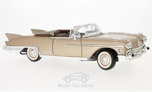 Cadillac Eldorado 1/18 Lucky Die Cast Biarritz metallise beige 1958 miniature