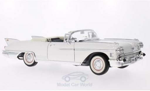 Cadillac Eldorado 1/18 Lucky Die Cast Biarritz blanche 1958 miniature