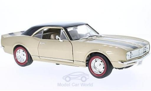 Chevrolet Camaro Z28 1/18 Lucky Die Cast gold/noire 1967 miniature