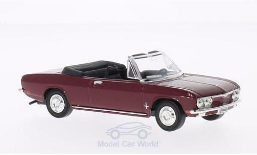 Chevrolet Corvair 1/43 Lucky Die Cast Monza red 1969 ohne Vitrine diecast