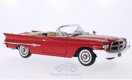 Chrysler 300F 1/18 Lucky Die Cast rouge 1960 miniature