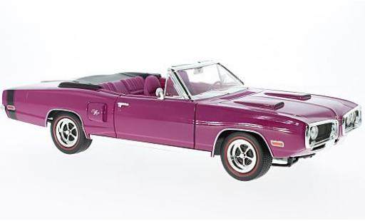 Dodge Coronet 1/18 Lucky Die Cast R/T lila 1970 miniature