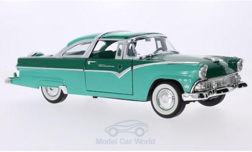 Ford Crown 1/18 Lucky Die Cast Victoria turquoise/verte 1955 miniature