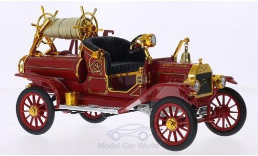 Ford Model T 1/18 Lucky Die Cast San Jose Fire Dept. 1914 inklusive Zubehör miniature
