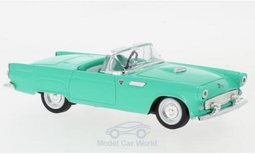 Ford Thunderbird 1/43 Lucky Die Cast turchese 1955 modellino in miniatura