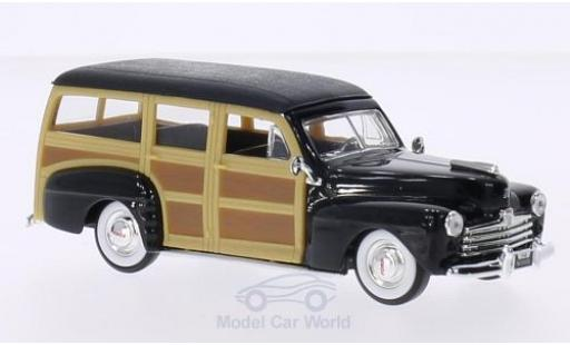 Ford Woody 1/43 Lucky Die Cast noire/Holzoptik 1948 ohne Vitrine miniature