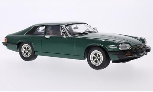 Jaguar XJS 1/18 Lucky Die Cast metallise verte 1975 miniature
