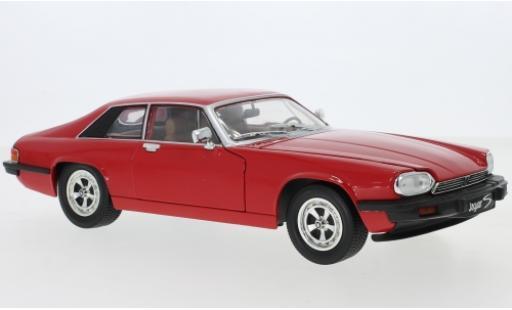 Jaguar XJS 1/18 Lucky Die Cast rouge 1975 miniature