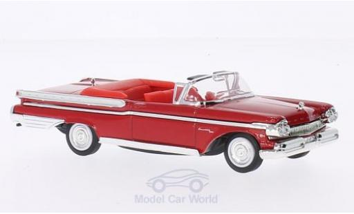 Mercury Turnpike 1/43 Lucky Die Cast Cruiser rouge 1957 ohne Vitrine miniature