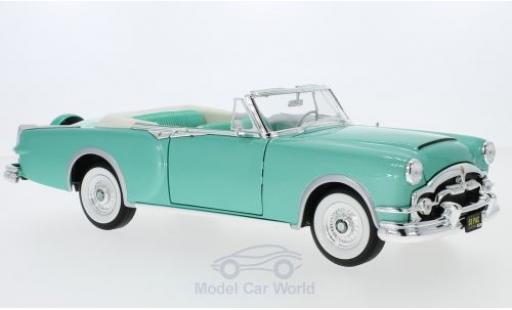 Packard Caribbean 1/18 Lucky Die Cast metallise verte 1953 miniature