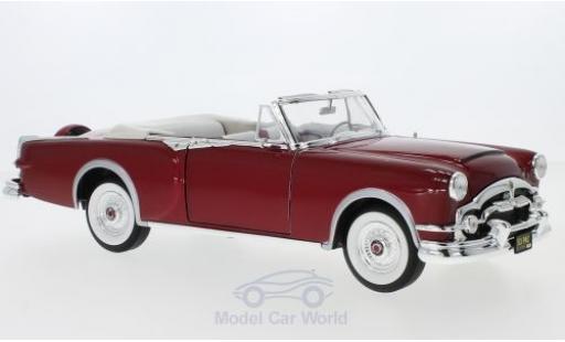 Packard Caribbean 1/18 Lucky Die Cast metallise rouge 1953 miniature