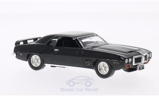 Pontiac Firebird 1/43 Lucky Die Cast Trans Am noire 1969 ohne Vitrine miniature