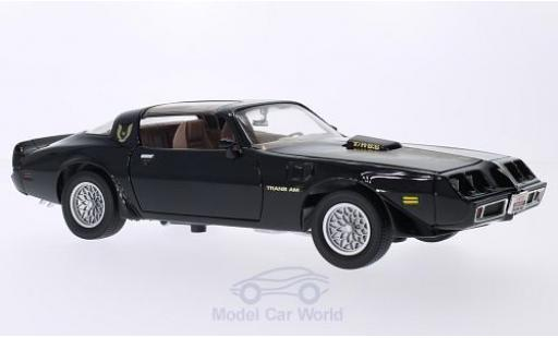 Pontiac Firebird 1979 1/18 Lucky Die Cast Trans Am noire/Dekor miniature