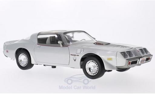 Pontiac Firebird 1979 1/18 Lucky Die Cast Trans Am grise/Dekor miniature