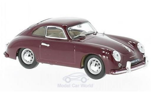 Porsche 356 1/43 Lucky Die Cast rouge 1952 miniature