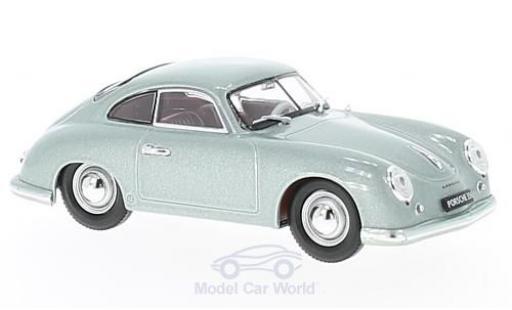 Porsche 356 A 1/43 Lucky Die Cast metallic-grise 1951 miniature