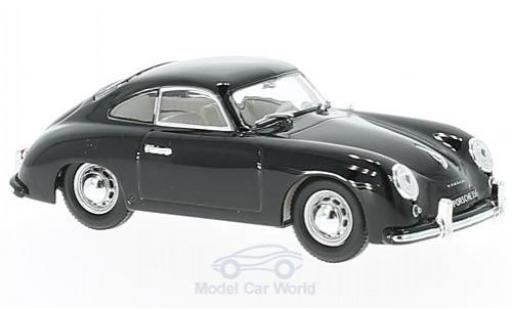 Porsche 356 1/43 Lucky Die Cast black 1952 diecast model cars