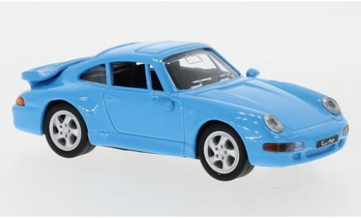 Porsche 993 Turbo 1/43 Lucky Die Cast 911  bleue 1996 miniature