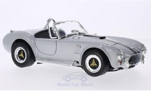 Shelby Cobra 1/18 Lucky Die Cast 427 S/C grise/noire 1964 miniature
