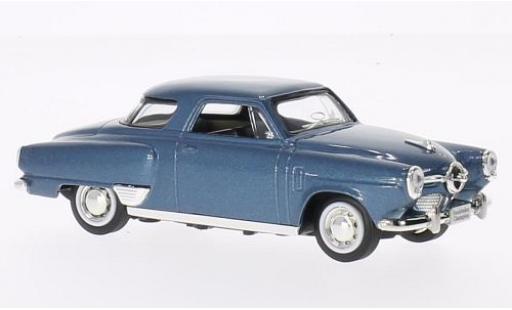Studebaker Champion 1/43 Lucky Die Cast metallise bleue 1950 sans Vitrine miniature