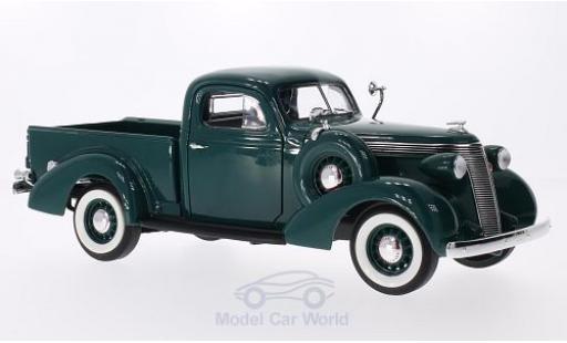 Studebaker Coupe Express 1/18 Lucky Die Cast Pick Up dunkelgrün 1937 miniature