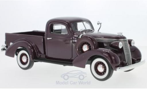 Studebaker Coupe Express 1/18 Lucky Die Cast Pick Up dunkelrot 1937 modellautos