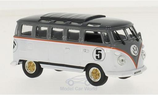 Volkswagen T1 B 1/43 Lucky Die Cast Samba white/grey 1962 diecast model cars
