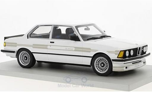 Bmw 323 1/18 Lucky Step Models Alpina blanche 1983 miniature