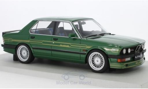 Bmw Alpina 1/18 Lucky Step Models B10 3.5 metallise green diecast model cars