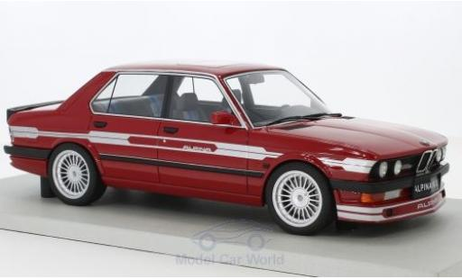 Bmw Alpina 1/18 Lucky Step Models B10 3.5 rosso modellino in miniatura