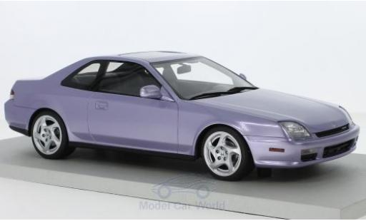 Honda Prelude 1/18 Lucky Step Models metallic-helllila 1997 miniature