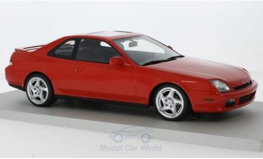 Honda Prelude 1/18 Lucky Step Models rouge 1997 miniature