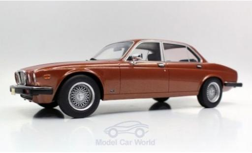Jaguar XJ 1/18 Lucky Step Models 6 bronze 1982 miniature