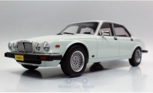 Jaguar XJ 1/18 Lucky Step Models 6 white 1982 diecast model cars