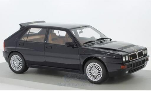 Lancia Delta 1/18 Lucky Step Models Integrale Club HF noire miniature
