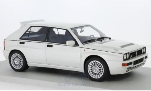 Lancia Delta 1/18 Lucky Step Models Integrale Evo II métallisé blanche miniature