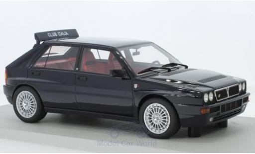 Lancia Delta 1/18 Lucky Step Models Integrale Evolutione Club Italia noire miniature