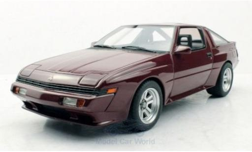 Mitsubishi Starion 1/18 Lucky Step Models red 1987 diecast model cars