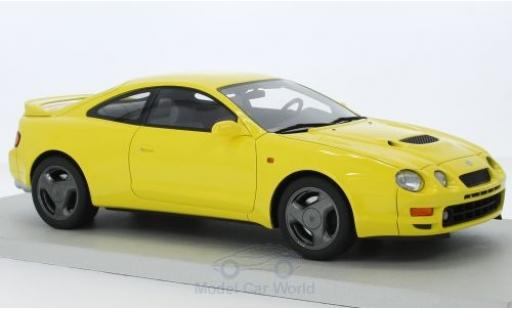 Toyota Celica 1/18 Lucky Step Models ST 205 jaune miniature