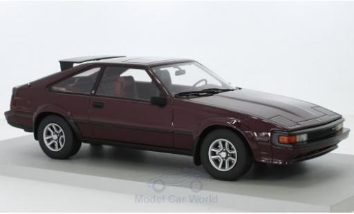 Toyota Celica 1/18 Lucky Step Models Supra MkII marron miniature