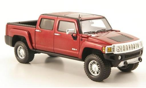 Hummer H3 1/43 Luxury Collectibles T metallise rouge 2008 miniature