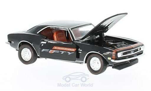 Chevrolet Camaro RS 1/64 M2 Machines SS 350 noire 1968 Fifty Years miniature