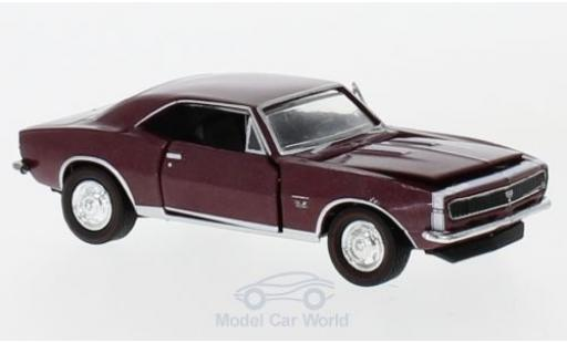 Chevrolet Camaro RS 1/64 M2 Machines SS/ 396 metallise rouge 1967 miniature