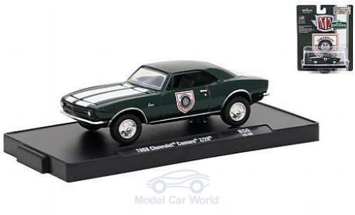 Chevrolet Camaro Z28 1/64 M2 Machines Z/28 green/white Sports Department 1968 diecast model cars