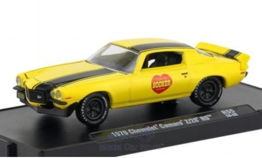 Chevrolet Camaro 1/64 M2 Machines Z/28 RS jaune/noire 1970 miniature